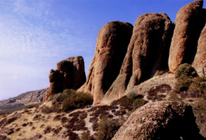 Pinnacles National Monument. Click for photo credit.